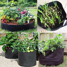 5 Pack Fabric Grow Pots Aeration Plant Bags 1/2/3/5/7/10 Gallon Smart bags FC