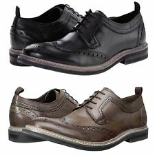 Kenneth Cole Mens Got To Give Brogue Lace Up Wingtip Business Casual Dress Shoes