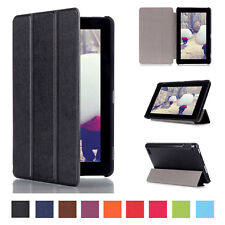 Folio PU Leather Case Stand Cover Shell For Amazon Kindle Fire HD 7 2015 Tablet
