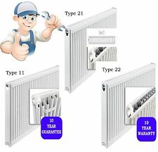 New Prorad 500mm High Double & Single Panel Compact Central Heating Radiator