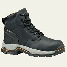 """Timberland PRO Boots Mens Stockdale 6"""" Alloy Safety Toe Black Work Boot 1064A"""