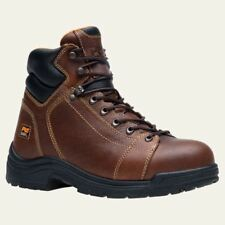 Timberland PRO Boots Mens TiTAN Lace-to-Toe Alloy Safety Toe Brown 50506