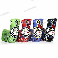 New PU Clown Golf Putter Cover Protect Headcover for Odyssey Taylormade Callaway