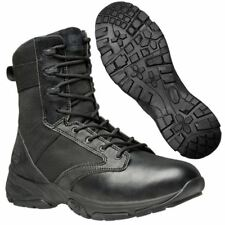 "Timberland PRO Mens Boots Valor Tactical 8"" Side-Zip Soft Toe Black Work Boot"