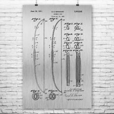 Archery Bow Poster Patent Print Gift Archery Poster Archery Wall Bow And Arrow