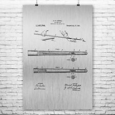 Billiards Pool Cue Stick Poster Patent Print Gift Pool Stick Billiards Cue Vin