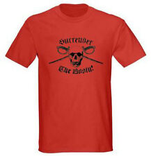 Surrender the Booty Pirate Humor Funny Adult Graphic Tee T-shirt Size S-5XL Red