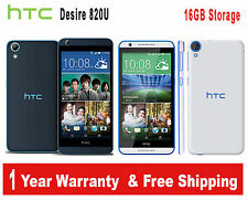 HTC Desire 820U White / Gary Dual Sim 16GB 13MP 4G LTE 12TH WARRANTY Smartphone