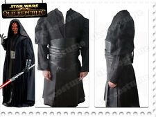 Star Wars Sith Dark Lord Darth Maul Cosplay Costume Halloween Tunic Outfit Suit