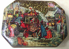 Vintage Fillerys Of Birmingham Christmas Toffee Tin