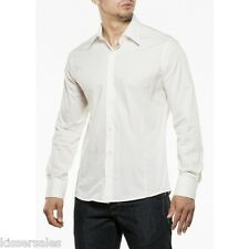 MEN'S SHIRT SIZE S-XXL SLIM FIT FITTED LONG-SLEEVED BUSINESS POLO T-SHIRT UNI