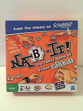 NAB IT Family Word Game by HASBRO 8+ Yrs 2-4 Players 100% Complete FREE UK POST