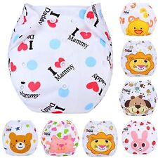 Baby Infant Reusable Washable Cloth Diaper Kids Nappy Cover Adjustable Diapers P