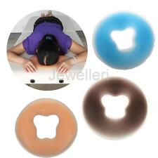 Salon Silicone Massage Silicon Face Relax Cradle Cushion Pillow Pad Beauty Care
