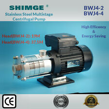 Shimge Stainless Steel Multi-Stage Centrifugal Pump BWJ4-2/4-4 Pressure Boosting