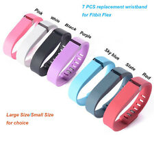 7pcs Replacement Metal Clasp Wrist Band For Fitbit Flex Bracelet No Tracker New