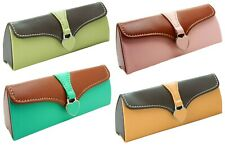 Ladies Clutch Bag Hard Magnetic Glasses / Spectacle Case With Presentation Box