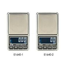 Mini Digital LCD Scale Jewelry Balance Weighing Tool 600g*0.01g/1000g*0.1g P1L5