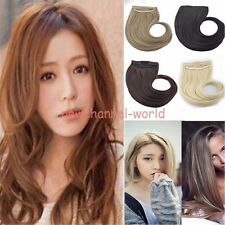 US Seller Bangs Clip on Front Fringe Clip in Hair Extensions Real Neat Side Bang