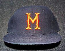 CIRCA 1948-57 MINNEAPOLIS MILLERS AMERICAN ASSOC. ROMAN PRO VINTAGE FITTED CAP