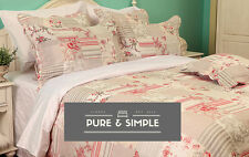 PATCHWORK BEDSPREAD DUVET COVER CUSHION CURTAINS ROSE KEIGHLEY