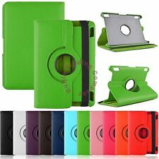 """360 Rotating Smart Case Stand Cover Leather Skin for Amazon Kindle Fire HDX 7"""""""