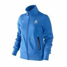 Womens Nike Athletic West Blue Track Top Full Zip Ladies Sports Size XS S L NEW