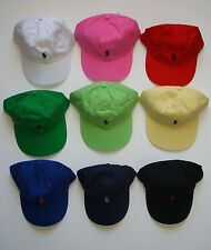 NEW Polo Ralph Lauren Baseball Cap Hat Small Pony Adjustable Strap  Colors