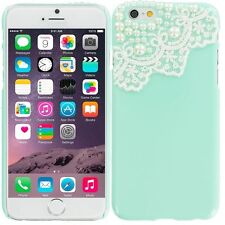 CUTE PEARL LACE HARD PHONE CASE COVER FOR APPLE IPHONE 4 4S