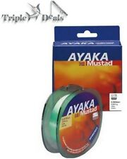 270m Spool of Green Mustad Ayaka Spincast Mono Fishing Line - Monofilament Line