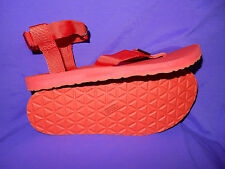 TEVA Mens Size 12 Original Sandal Sport Sandal RED New!