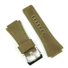 Bark Ammo Pouch Style Leather Watch Band fits Bell & Ross BR01 BR03