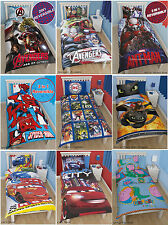 Genuine Avengers Spiderman Cars Doona Quilt Cover Set Single Cotton Kids Boys