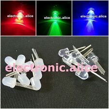 5-1000pcs F10MM 4PIN tri-color common adode cathode Diffused RGB LED Light Diode