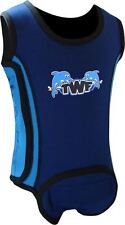 TWF Baby Wrap Wetsuit  -  Dolphin Blue 2016