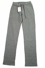 Alviero Martini 1A Classe Womens Relaxed Fit Pants - Grey Cotton