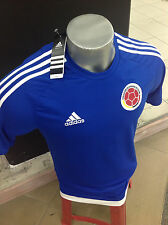 SELECCION COLOMBIA NATIONAL TEAM JERSEY FCF MENS AZUL REY JERSEY ADIDAS S16148