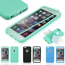 """New Shockproof Rugged Hybrid Rubber Hard Cover Case For iPhone 6S 4.7""""/5.5"""" Plus"""