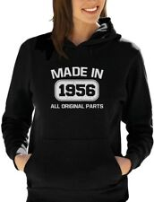60th Birthday Gift Idea Made in 1956 Women Hoodie Funny Present