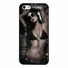 Kat Von D Beautiful Tattoo Sexy PHONE CASE COVER fits IPHONE 4s 5s 5c 6s 6+