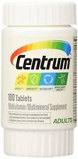 Centrum Silver Multiviamin/Multiminveral Men, Adult, Vision, Women, Tropical Fru