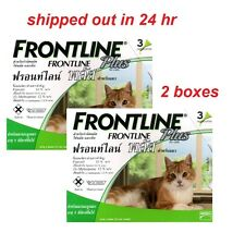 Frontline Plus Cats Kitten Puss Pussy Tick Flea Health Care Remedies 6 Doses