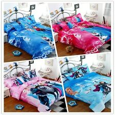 Frozen Sisters Single/Queen Size Bed Quilt/Doona/Duvet Cover Set New 100% Cotton