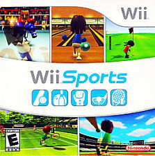 BRAND NEW Wii Sports (Nintendo Wii) SEALED! 5 in 1 boxing+bowling+tennis+golf+