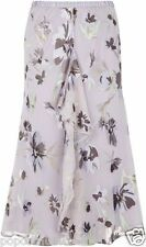 New Jacques Vert skirt Silk devour Lilac Ruffle Frill Wedding Party rrp £109