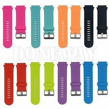 Silicone Rubber Watch Band Replacement Wrist Strap For Garmin Forerunner 920XT