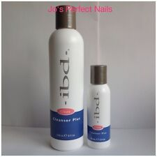 IBD Cleanser Plus - Gel Nails 236ml / 59ml - Choose Your Size - New