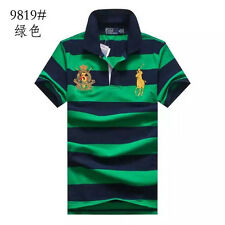 2016 NWT MENS POLO CASUAL TEE SHIRTS SWEATER SHORTSLEEVE TOPS BLOUSES SIZE S-XXL