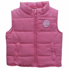 MANCHESTER UNITED, MAN UTD FC BABY GIRLS PADDED GILET  OFFICIAL PRODUCT