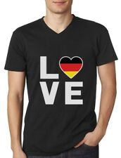 I Love Germany - German Flag Deutschland Best Gift V-Neck T-Shirt Novelty Gift
